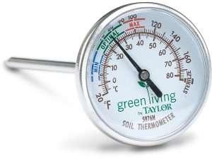 Termómetro Para El Suelo Marca Taylor En ºC Y ºF
