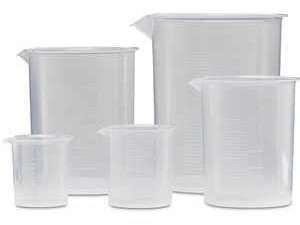 Set De Beakers De Plástico
