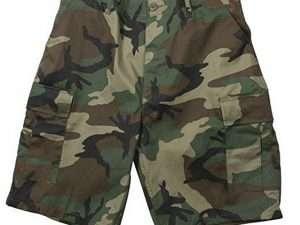 Bermudas, Pantalones Cortos Camuflados Ultra Force