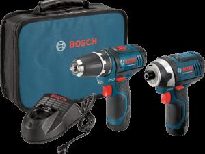 Juego De Taladro Y Destornillador De Impacto Bosch 12 V