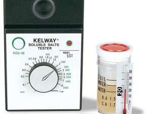 Medidor de Salinidad del suelo y Conductividad eléctrica