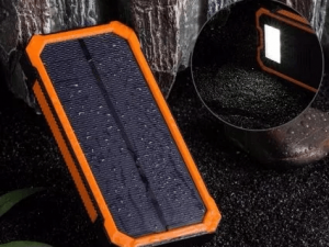 Power Bank Biennia 15000 Mah Solar Panel