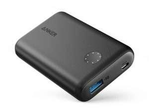 Cargador Anker PowerCore II 10000 compacto 10000mAh carga rápida para iPhone, Samsung Galaxy y más