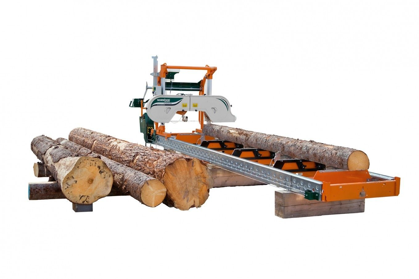 Aserrador de banda lumberpro hd36 with 23 hp gas motor