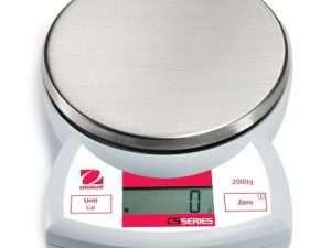 Balanza portátil estándar ohaus cs 2000 de 2.000g x 1g