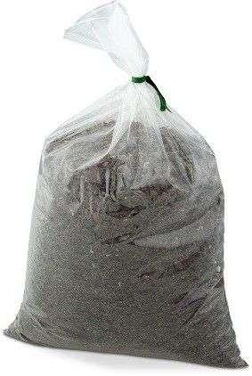 bolsas y lazos de la muestra del suelo