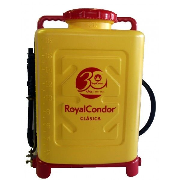 Bomba de espalda manual royal condor