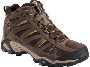 COLUMBIA NORTH PLAINS MID LEATHER WATERPROOF