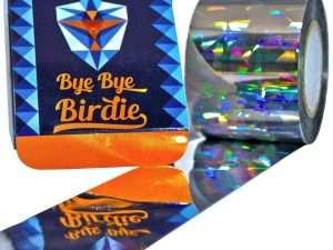Cinta repelente adhesiva para  pájaros Bye-Bye