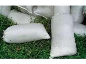 Bultos de Materia Orgánica Vegetal Para Fertilización