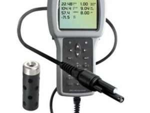 Equipo Medidor de Oxígeno Disuelto, pH, Temperatura, Salinidad etc.
