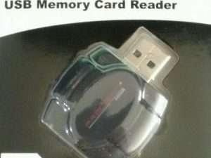 Lector De Memoria Sd, Microsd