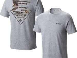 Camiseta Columbia PFG Vertical Triangle