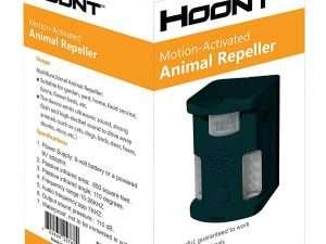 Repelente ultrasonido ahuyentador de animales Hoont™
