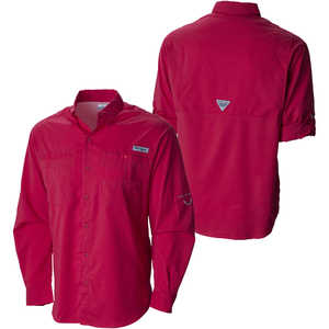 Camisa Hombre Roja Columbia Camping Supervivencia – GreenForest ... 81731a15aac