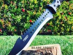 Cuchillo De Caza, Supervivencia 40cm Full Xtreme