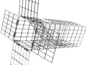 Trampa Tomahawk Excluyente con puerta de una vía 10x3x3