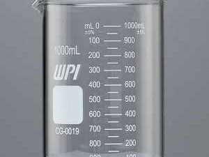 Vaso Graduado de vidrio griffin de 1000 ml