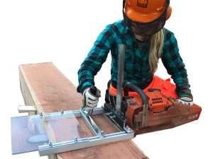 "Aserrio Alaskan Small Log Mill Para Motosierras De 20"""