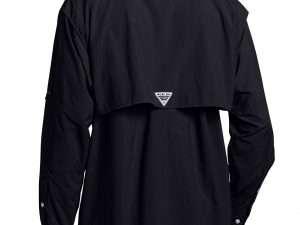 Camisa Columbia de Hombre color negro Bahama II talla M