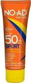 Bloqueador solar NO-AD Factor 50 Sport