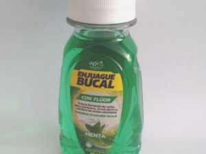 Enjuague Bucal Con Fluor 60 ml
