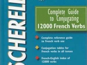 Libro Bescherelle Guía Para Conjugación 12000 Verbos Frances