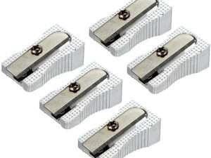 Caja de Sacapuntas Metálicos x 12 unidades