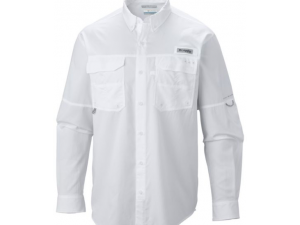Camisa Columbia Hombre Blood And Guts Blanca Talla M