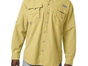 Camisa Columbia De Hombre Bahama Ii Amarilla