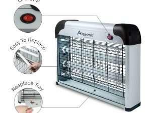 Lámpara Aspectek Control De Zancudos, Moscas, Insectos Voladores
