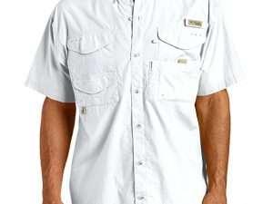 Camisa Columbia Bonehead hombre blanca