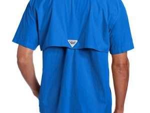 Camisa Columbia Hombre Bonehead Azul