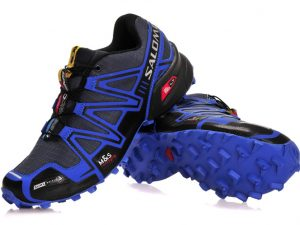 Tennis Salomon Speedcross 3 Azul Con Negro