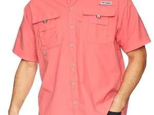 Camisa Columbia Hombre Bahama Ii Rosada