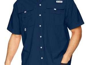 Camisa Columbia Hombre Bahama Ii Azul
