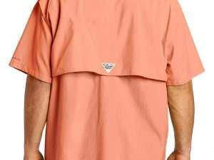 Camisa Columbia Hombre Bahama Ii Naranja Camisa Columbia Hombre Bahama Ii  Naranja 7c99e1c029d