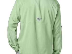 Camisa Columbia Tamiami Ii Pfg Manga Larga, Verde