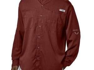 Camisa Columbia Tamiami Manga Larga