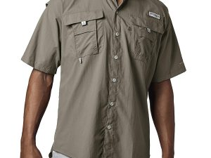 Camisa Columbia De Hombre Bahama Ii Color Cafe