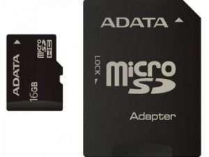 Memoria Microsd Adata Con Adapatador 16gb
