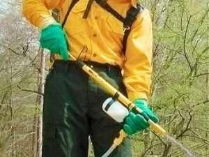 Bomba De Espalda Control De Incendios Amarilla Marca Scotty®