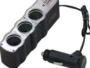 Cargador Adaptador Usb Encendedor Carro