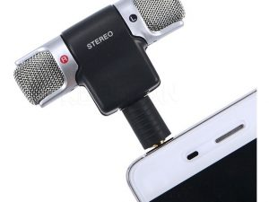 Micrófono doble cámara Sony Canon Nikon iphone