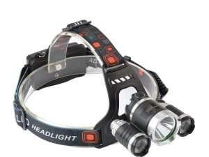 Linterna frontal LED, recargable Marca The Revenant