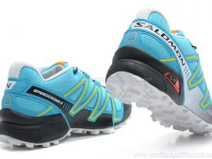Tennis Salomon Speedcross 3 Para Damas Color Azul