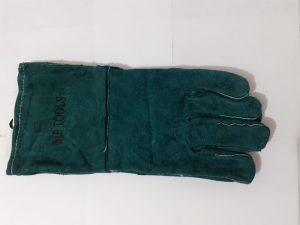 Guantes Carnaza Largo Manejo De Fauna Mp Tools