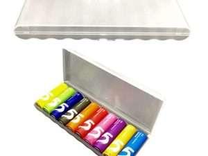 Estuche Caja Organizador Baterías X 10 Unidades