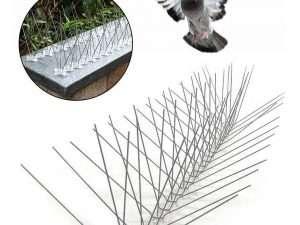 Ahuyentador Chuzos Punzones Agujas2m Plástico Pájaro Paloma