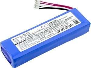 Batería Bafle speaker 3.7 VDC 6000 mAh JBL Charge 2+, Charge Plus, ajusta JBL MLP912995-2P